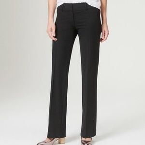 LOFT marisa trouser black linen pants